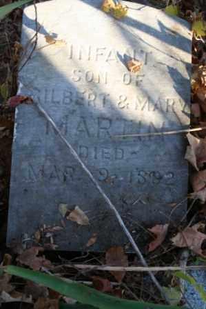 MARTIN, INFANT SON OF GILBERT & MARY - Morrow County, Ohio | INFANT SON OF GILBERT & MARY MARTIN - Ohio Gravestone Photos
