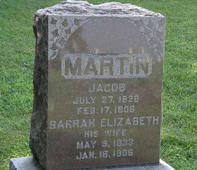MARTIN, JACOB - Morrow County, Ohio | JACOB MARTIN - Ohio Gravestone Photos