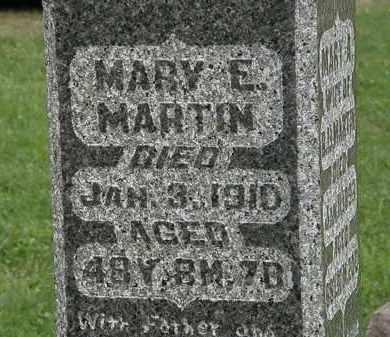 MARTIN, MARY E. - Morrow County, Ohio   MARY E. MARTIN - Ohio Gravestone Photos