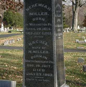 MILLER, RACHEL - Morrow County, Ohio | RACHEL MILLER - Ohio Gravestone Photos