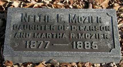 MOZIER, NELLIE E. - Morrow County, Ohio | NELLIE E. MOZIER - Ohio Gravestone Photos