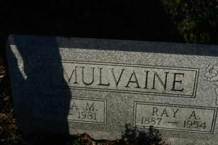 MULVAINE, RAY A - Morrow County, Ohio   RAY A MULVAINE - Ohio Gravestone Photos