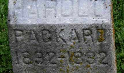 PACKARD, HAROLD - Morrow County, Ohio | HAROLD PACKARD - Ohio Gravestone Photos
