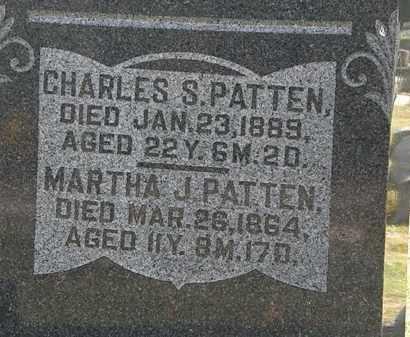 PATTEN, CHARLES S. - Morrow County, Ohio | CHARLES S. PATTEN - Ohio Gravestone Photos