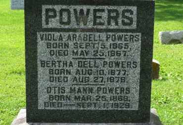 POWERS, BERTHA DELL - Morrow County, Ohio | BERTHA DELL POWERS - Ohio Gravestone Photos