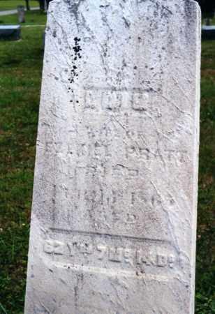 MEAD PRATT, LOIS - Morrow County, Ohio   LOIS MEAD PRATT - Ohio Gravestone Photos