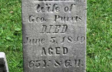 PURVIS, SIBBIA - Morrow County, Ohio | SIBBIA PURVIS - Ohio Gravestone Photos