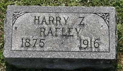 RAFLEY, HARRY Z. - Morrow County, Ohio | HARRY Z. RAFLEY - Ohio Gravestone Photos