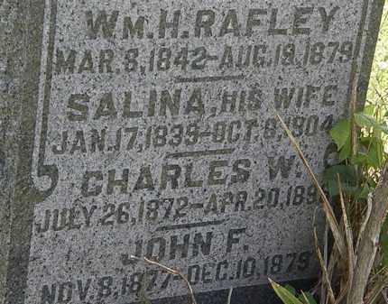 RAFLEY, SALINA - Morrow County, Ohio   SALINA RAFLEY - Ohio Gravestone Photos