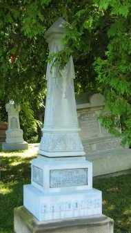RANDOLPH, E. F. - Morrow County, Ohio | E. F. RANDOLPH - Ohio Gravestone Photos