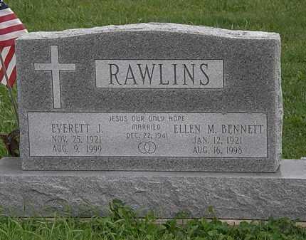RAWLINS, ELLEN M. - Morrow County, Ohio | ELLEN M. RAWLINS - Ohio Gravestone Photos