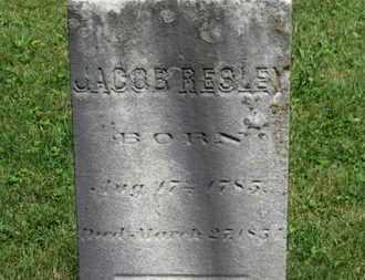 RESLEY, JACOB - Morrow County, Ohio   JACOB RESLEY - Ohio Gravestone Photos