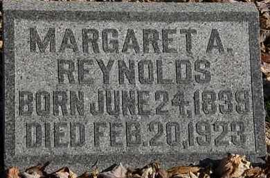 REYNOLDS, MARGARET A. - Morrow County, Ohio | MARGARET A. REYNOLDS - Ohio Gravestone Photos