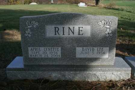 RINE, APRIL LYNETTE - Morrow County, Ohio | APRIL LYNETTE RINE - Ohio Gravestone Photos