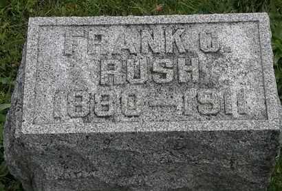 RUSH, FRANK C. - Morrow County, Ohio | FRANK C. RUSH - Ohio Gravestone Photos