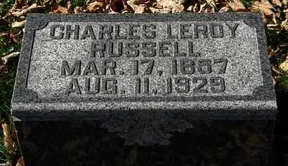RUSSELL, CHARLES LEROY - Morrow County, Ohio | CHARLES LEROY RUSSELL - Ohio Gravestone Photos