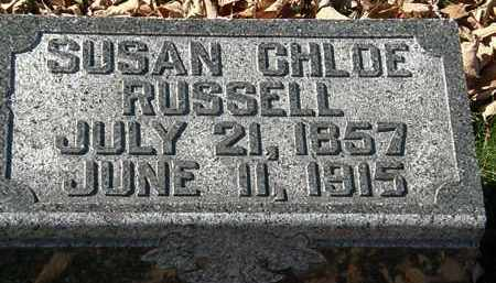 RUSSELL, SUSAN CHLOE - Morrow County, Ohio | SUSAN CHLOE RUSSELL - Ohio Gravestone Photos