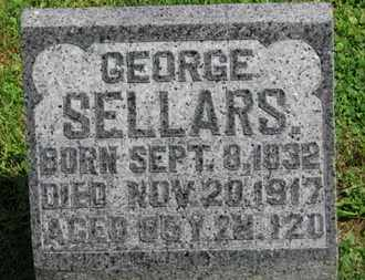 SELLARS, GEORGE - Morrow County, Ohio | GEORGE SELLARS - Ohio Gravestone Photos