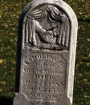 SHARPE, CAROLINE R. - Morrow County, Ohio   CAROLINE R. SHARPE - Ohio Gravestone Photos