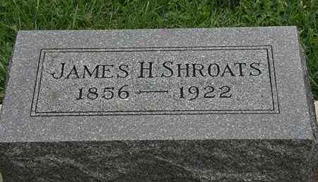 SHROATS, JAMES H. - Morrow County, Ohio | JAMES H. SHROATS - Ohio Gravestone Photos