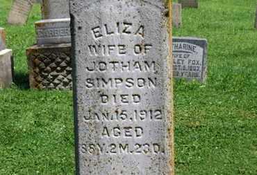 SIMPSON, JOTHAM - Morrow County, Ohio   JOTHAM SIMPSON - Ohio Gravestone Photos