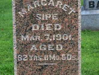 SIPE, MARGARET - Morrow County, Ohio | MARGARET SIPE - Ohio Gravestone Photos