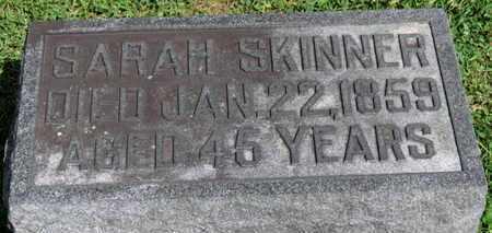 SKINNER, SARAH - Morrow County, Ohio | SARAH SKINNER - Ohio Gravestone Photos