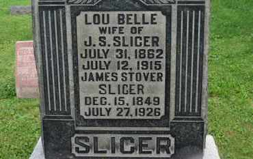 SLICER, LOU BELLE - Morrow County, Ohio | LOU BELLE SLICER - Ohio Gravestone Photos