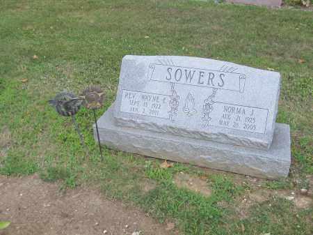SOWERS, WAYNE - Morrow County, Ohio | WAYNE SOWERS - Ohio Gravestone Photos