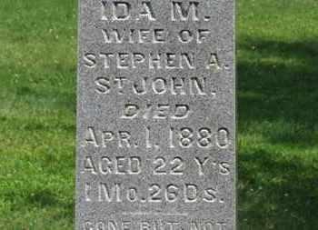 ST. JOHN, STEPHEN A. - Morrow County, Ohio | STEPHEN A. ST. JOHN - Ohio Gravestone Photos