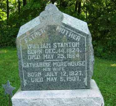 MOREHOUSE STANTON, CATHARINE - Morrow County, Ohio | CATHARINE MOREHOUSE STANTON - Ohio Gravestone Photos