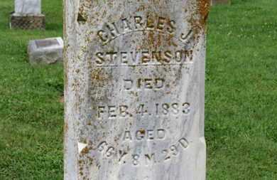 STEVENSON, CHARLES J. - Morrow County, Ohio | CHARLES J. STEVENSON - Ohio Gravestone Photos