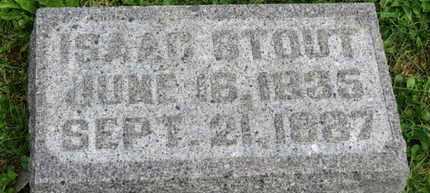 STOUT, ISAAC - Morrow County, Ohio   ISAAC STOUT - Ohio Gravestone Photos