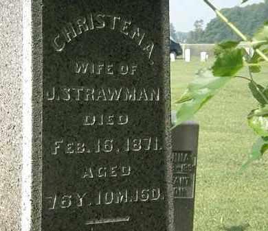 STRAWMAN, CHRISTENA - Morrow County, Ohio   CHRISTENA STRAWMAN - Ohio Gravestone Photos