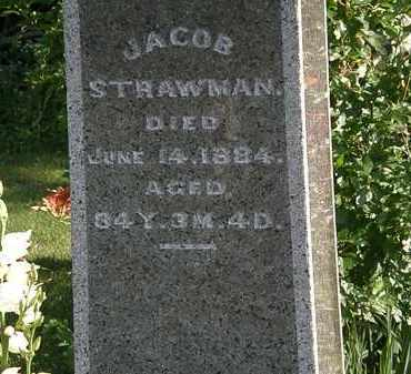 STRAWMAN, JACOB - Morrow County, Ohio | JACOB STRAWMAN - Ohio Gravestone Photos