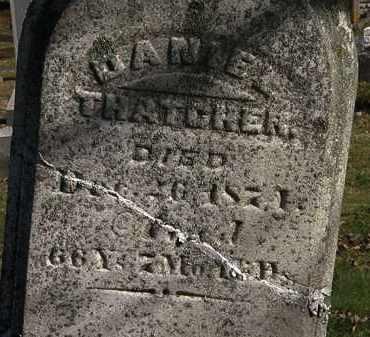 THATCHER, DANIEL - Morrow County, Ohio | DANIEL THATCHER - Ohio Gravestone Photos