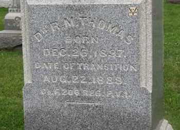 THOMAS, DR. R.M. - Morrow County, Ohio | DR. R.M. THOMAS - Ohio Gravestone Photos