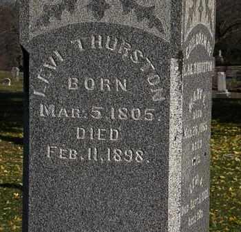 THURSTON, LEVI - Morrow County, Ohio   LEVI THURSTON - Ohio Gravestone Photos