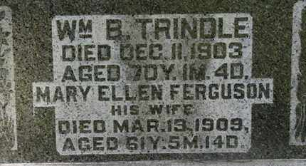 FERGUSON TRINDLE, MARY ELLEN - Morrow County, Ohio | MARY ELLEN FERGUSON TRINDLE - Ohio Gravestone Photos
