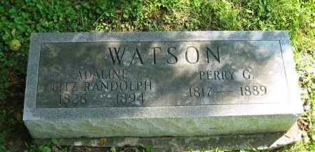 RANDOLPH WATSON, ADALINE FITZ - Morrow County, Ohio | ADALINE FITZ RANDOLPH WATSON - Ohio Gravestone Photos