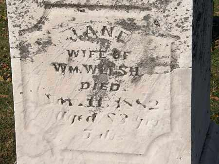 WELSH, JANE - Morrow County, Ohio | JANE WELSH - Ohio Gravestone Photos