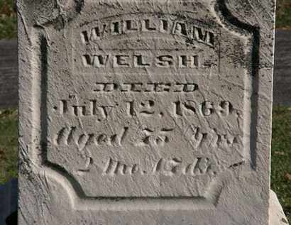 WELSH, WILLIAM - Morrow County, Ohio | WILLIAM WELSH - Ohio Gravestone Photos