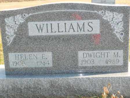 WILLIAMS, DWIGHT M - Morrow County, Ohio | DWIGHT M WILLIAMS - Ohio Gravestone Photos