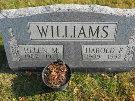WILLIAMS, HELEN M - Morrow County, Ohio | HELEN M WILLIAMS - Ohio Gravestone Photos