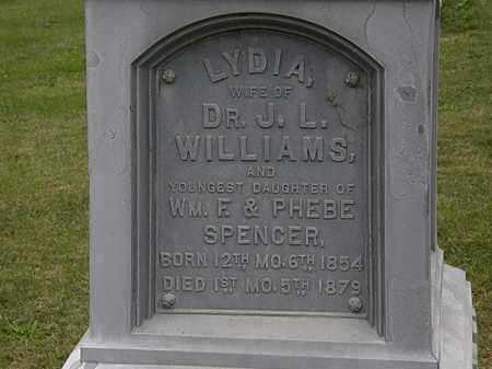 WILLIAMS, LYDIA - Morrow County, Ohio | LYDIA WILLIAMS - Ohio Gravestone Photos