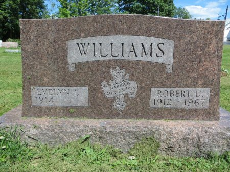 BEACOM WILLIAMS, EVELYN L. - Morrow County, Ohio   EVELYN L. BEACOM WILLIAMS - Ohio Gravestone Photos