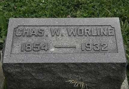 WORLINE, CHAS. W. - Morrow County, Ohio   CHAS. W. WORLINE - Ohio Gravestone Photos