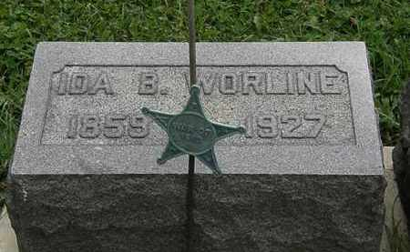 WORLINE, IDA B. - Morrow County, Ohio | IDA B. WORLINE - Ohio Gravestone Photos