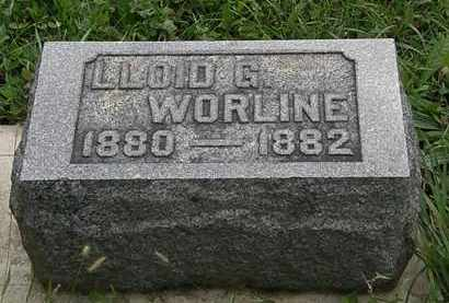 WORLINE, LLOID G. - Morrow County, Ohio | LLOID G. WORLINE - Ohio Gravestone Photos