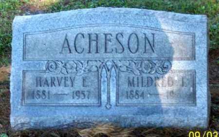 ACHESON, HARVEY E. - Muskingum County, Ohio   HARVEY E. ACHESON - Ohio Gravestone Photos